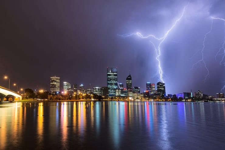 Lightning Perth